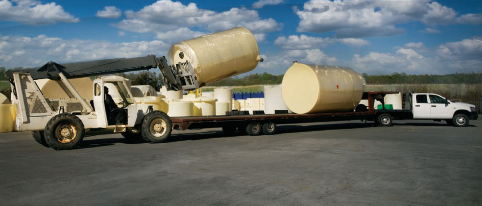 Poly Tank Delivery
