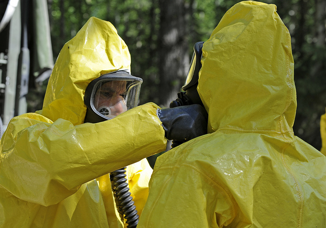 Chemical Spill Hazmat Suits