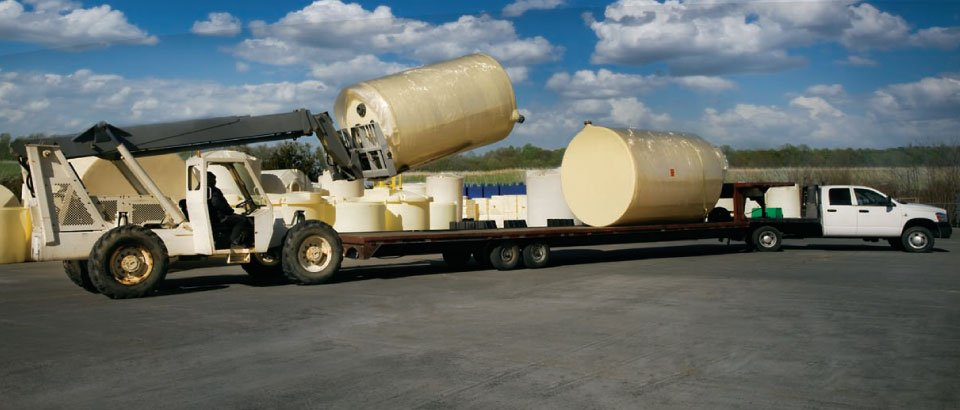 Chemical Storage Tank Delivery