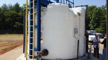 poly storage tank
