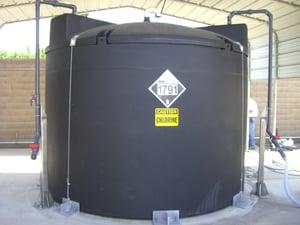 Chlorine Storage Tank