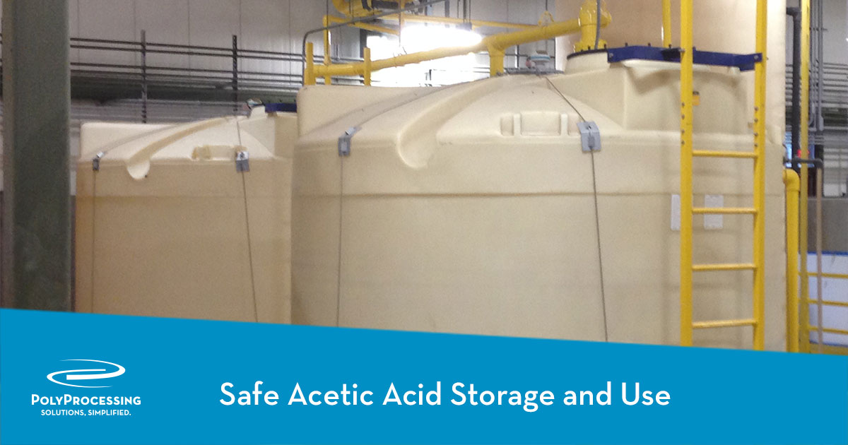 Safe Acetic Acid Storage and Use