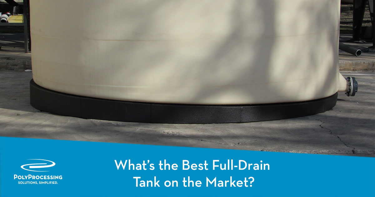 What' the Best Full Drain Tank on the Market?