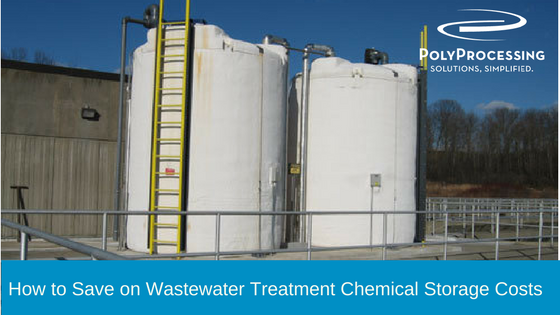 Save on Wastewater Treatment Chemical Storage Costs