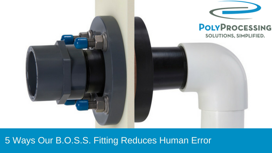 5 Ways Our B.O.S.S. Fitting Reduces Human Error