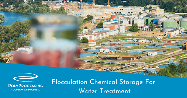 flocculation-chemical-storage-for-wastewater-treatment