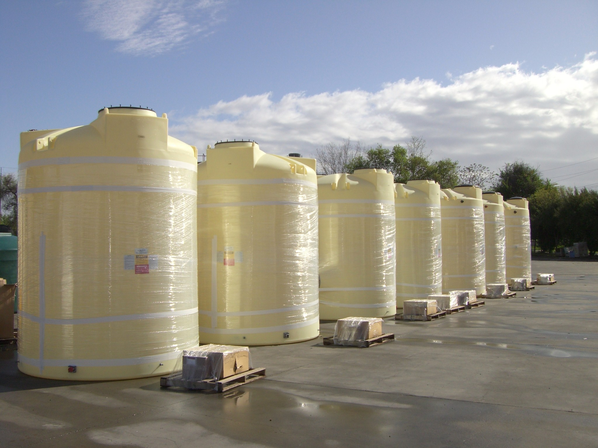 Poly Processing's Rotational Molded Tanks