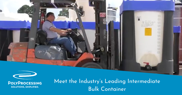 Meet the Industry's Leading Intermediate Bulk Container