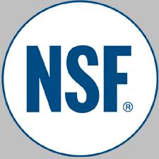 NSF Certifed Tanks