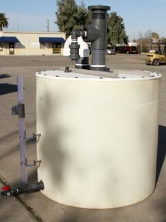 Poly Processing 710 Gallon Scrubber with Accessories