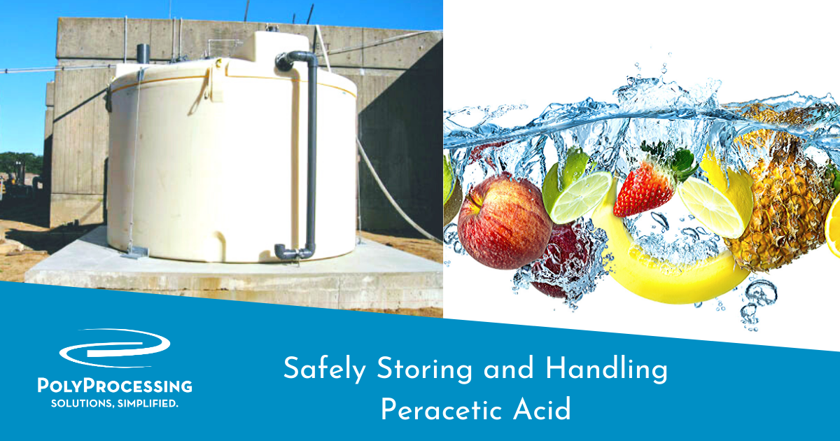 Safely Storing and Handling Peracetic Acid