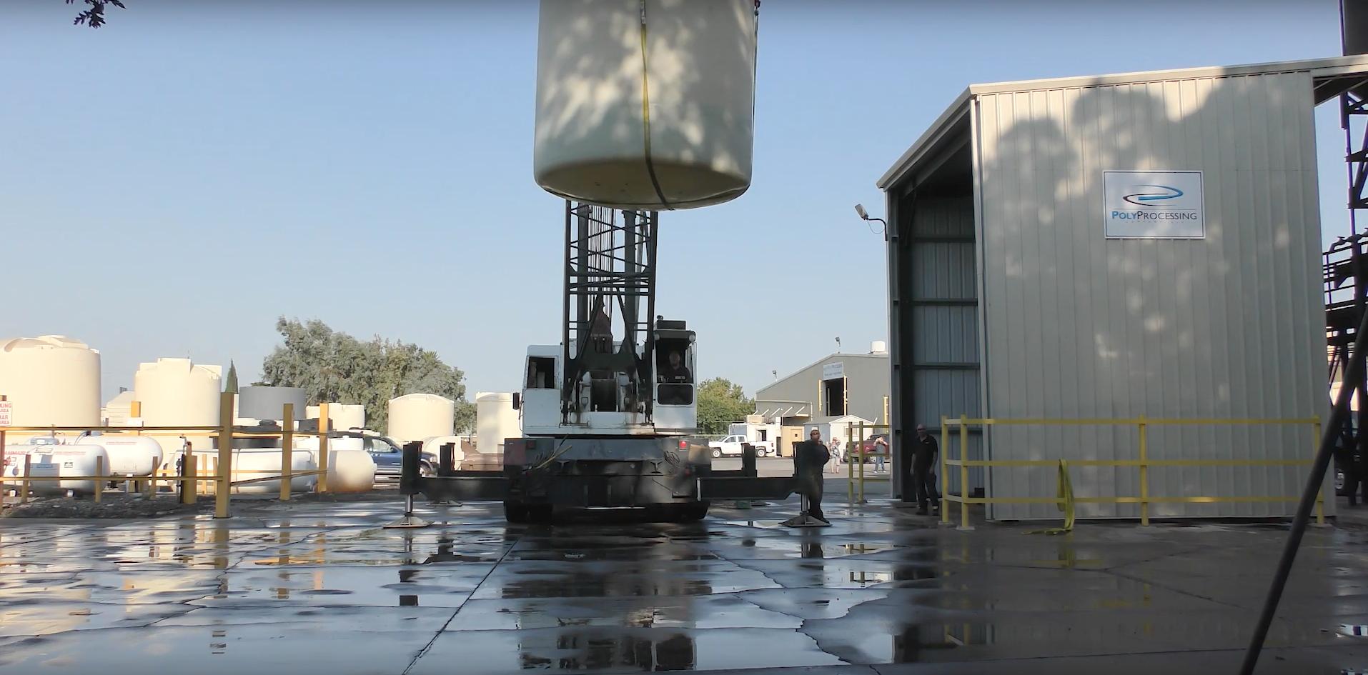 Poly Processing XLPE tank