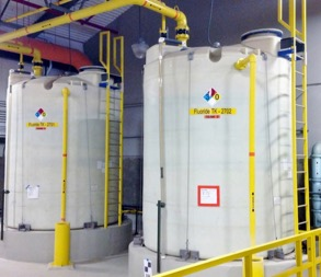 Chemical Storage Tank Ladders & Safety