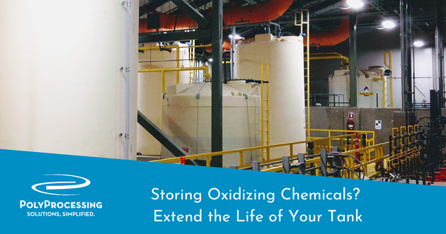 Storing Oxidizing Chemicals Extend the Life of Your Tank