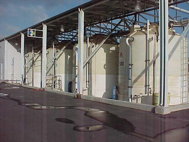 Poly Processing Tanks