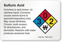 Explained Sulfuric Acid Storage Policy