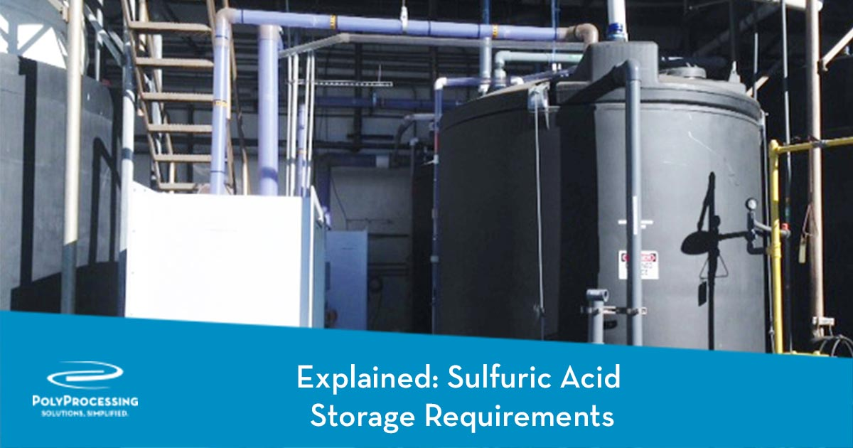 Explained: Sulfuric Acid Storage Requirements